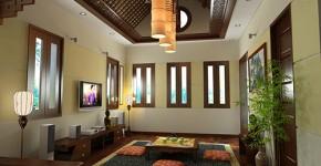 Trang trí trần nhà hợp quy tắc phong thủy
