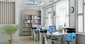 Bố trí máy tính phù hợp với bàn làm việc.
