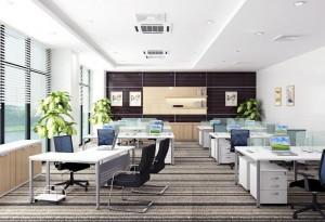 Bố trí nơi làm việc mang lại thuận lợi cho bàn làm việc